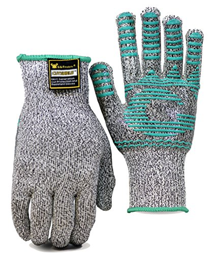G & F 77100 Cut Resistant Gloves For Woodworking