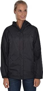 Swiss Alps Womens Wind Resistant Lightweight Rain Jacket