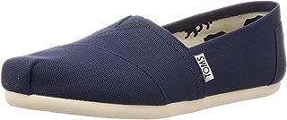 TOMS Canvas Women Classic, Womens Shoes, Blue (Navy Canvas), 8 US