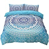 Soul hill Cubiertas Dobles for la Cama de edredón Set 2 Piezas Inicio de Cama Duvet Cover Set (Individual (150x210cm, sin Relleno), Azul) zcaqtajro (Color : Black, Size : Single(150x210cm)