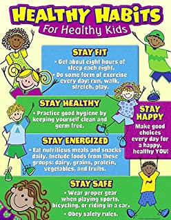 Teacher Created Resources Healthy Habits for Healthy Kids Chart (7736)