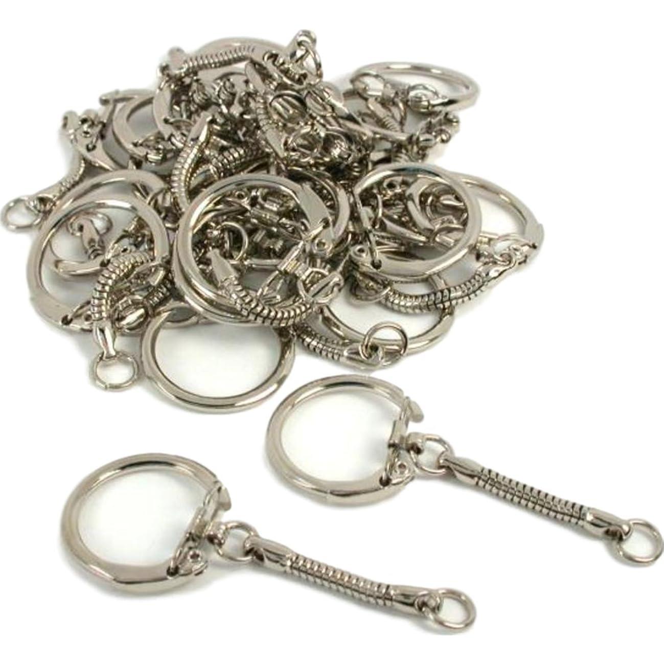 FindingKing Locking Key Chain 24Pcs