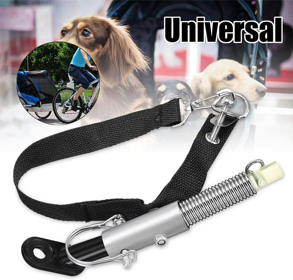 GFULLOV Bicycle Trailer Coupler Iron Bike Trailer Connector Sturdy Cycling Trailer Hitch Adapter Attachment for Towbar Baby Pet Stroller