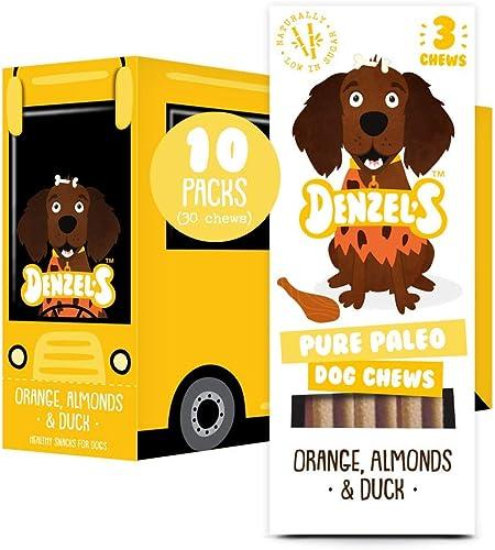 Denzel's Healthy Dog Treats - Low Calorie, Low Fat Natural Dog Treats