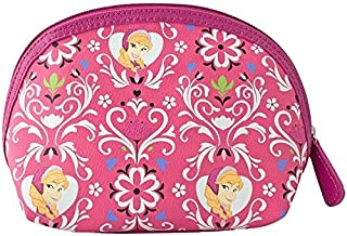 Disney Frozen Anna Pink Floral Cosmetic Bag