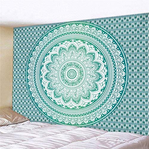 NGHSDO Tapiz Pared Tapices colgados de la Pared de la decoración Manta Estilo de Yoga Dormir tapicería de la Pared Tela Tapices De Pared (Color : CH 9, Size : 100X75CM)