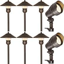 Best low voltage outdoor path lighting kits Reviews