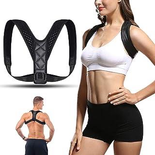 YOMYM Shoulder Straightener - Spinal Reserving Orthopedic Spine Antenna - Full Back Support Posture Corrector for Men and ...