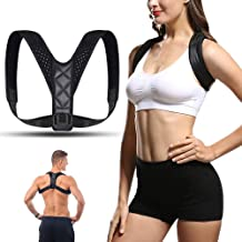 YOMYM Shoulder Straightener - Spinal Reserving Orthopedic Spine Antenna - Full Back Support Posture Corrector for Men and ...