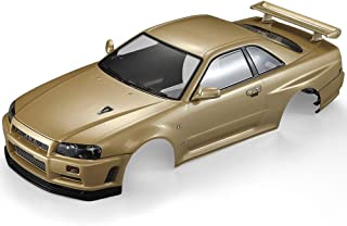 Mobiliarbus RC Body Shell Nissan Skyline (R34) Finished Body Shell Frame Killerbody 48716 for 1/10 Electric Touring RC Racing Car DIY