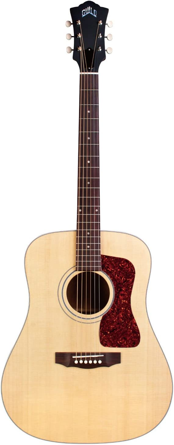 Guild D-40E Guitarra Acústica-Eléctrica Natural