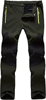 Freiesoldaten Men's Outdoor Cargo Pants Windproof Water Repellent Softshell Trousers