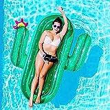 Piscina Inflable flotador Colchonetas y juguetes hinchables Gigante Inflable Cactus Agua Flotador Balsa Verano Nadar Piscina Tumbona Playa Anillo