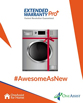 OneAssist 2 Years EW Pro Plus plan for Washing Machines Between Rs. 5,000 - Rs. 15,000