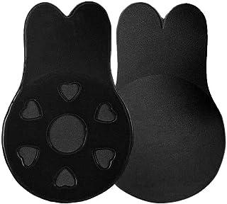 Geggur Invisible Adhesive Bra Push Up Strapless Pasties Bra Nipple Cover Breast Petals Bra Invisible Brassy Tape Breast Li...