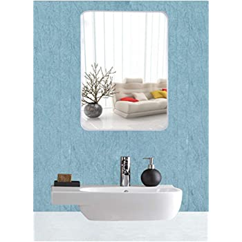 EyeonBay Kichen & Home Appliances Glass Mirror (20 x 14 inch , White)