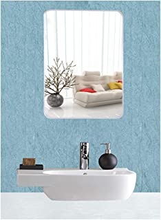 EyeonBay Kichen & Home Appliances Glass Mirror (20 x 14 inch , White)