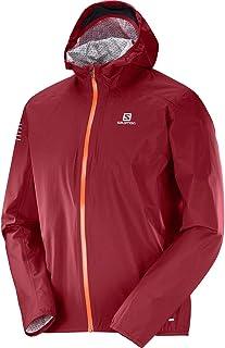 Salomon Men's Bonatti Waterproof Jacket, Biking Red, Medium