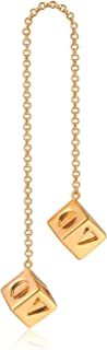 Han Solo Lucky Dice,Biggest and High Hardness Sabacc Gold Dice Keychain (Copper)