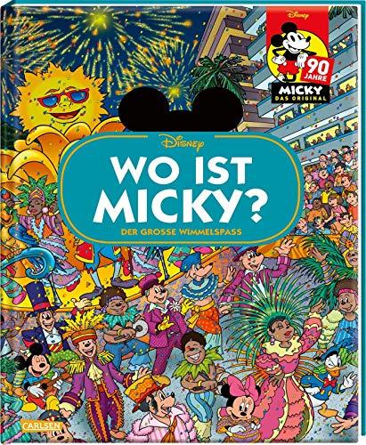 Disney: Wo ist Micky? – Wimmelbuch mit Micky Maus: Der große Wimmelspaß (Wimmelbuch)