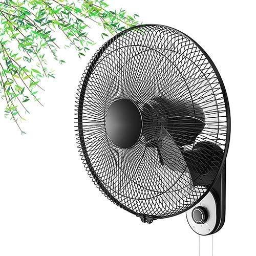 16/18 in Wandventilator, beweglicher Kühlventilator, Lärm Low, Weitwinkel Luftversorgung, einstellbare dritte Geschwindigkeit,Ohne Fernbedienung,45cm * 54cm