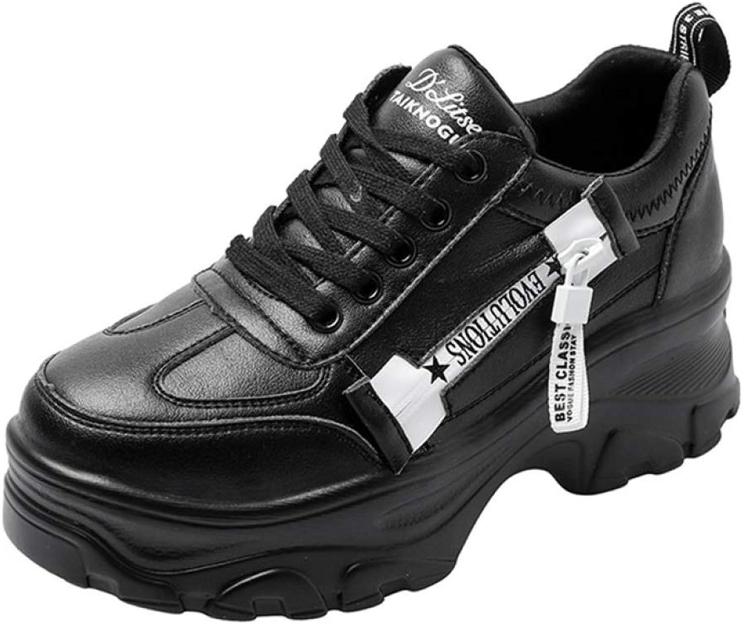 T-JULY Tenis High Heels Women Sneakers Platform Women Trainers shoes Casual Ladies shoes