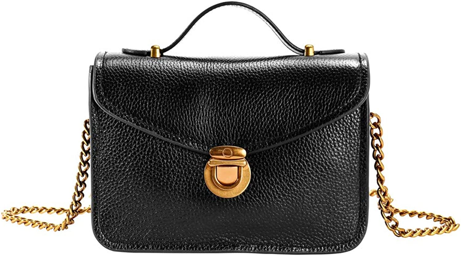 Genda 2Archer Women Evening Party Leather Chain Handbag