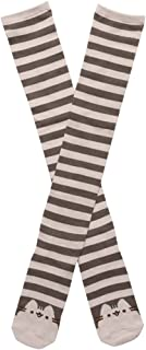 Pusheen Striped Face Women's Knee High Socks