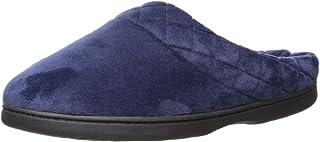 حذاء Dearfoams النسائي من الألياف الدقيقة من Darcy بشريط مبطن