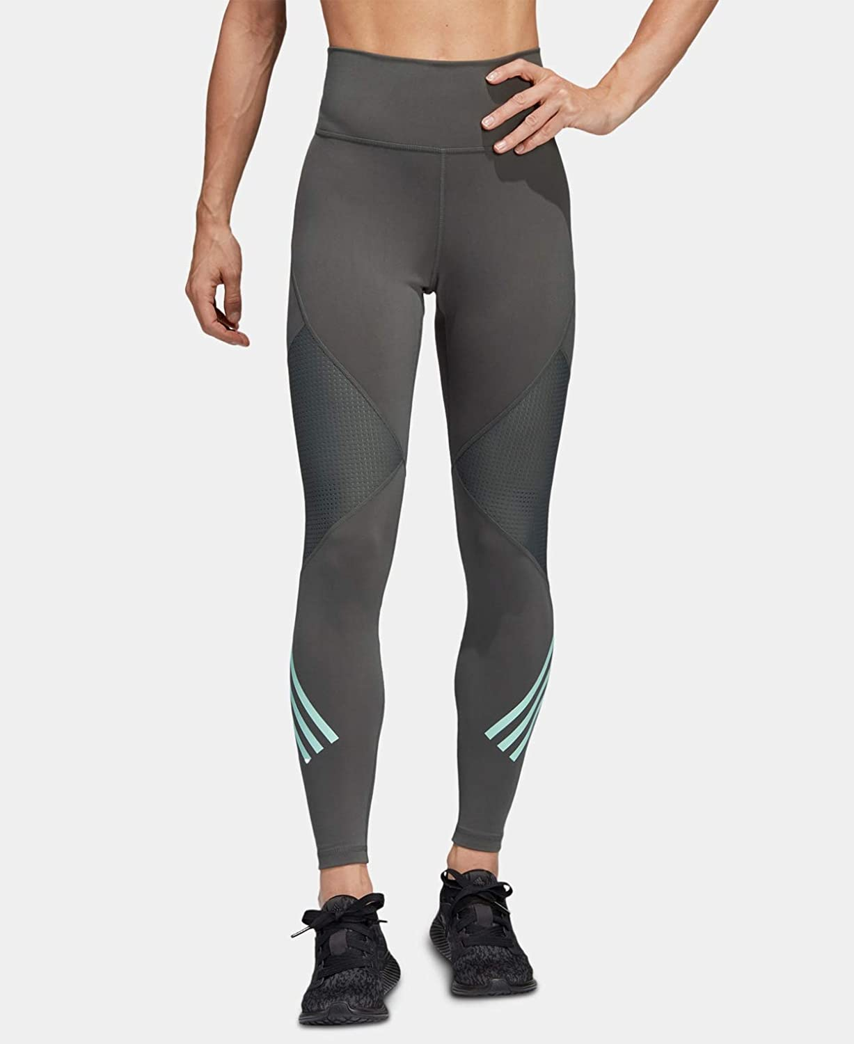 adidas Women's Believe This High Rise Save money Tight supreme 3-Stripes 8 Length 7