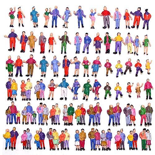 Evemodel 100 Figuren stehende Figuren Modellbahn Spur gebraucht kaufen  Wird an jeden Ort in Deutschland