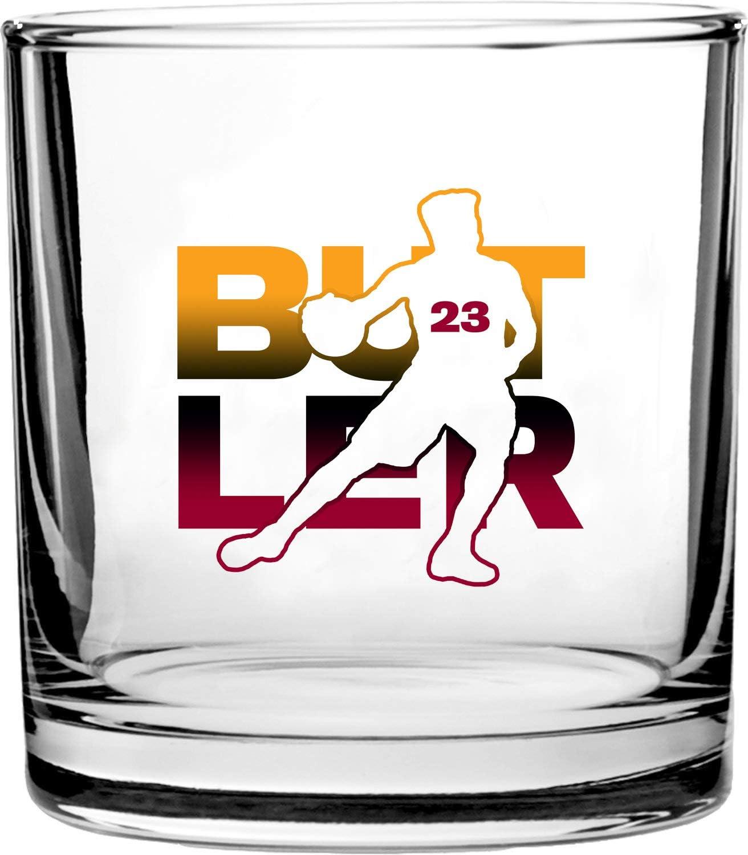 Basketball Sports Athletic Player 3D Color Printed Scotch Whiskey Glass 10.5 oz Kawhi #2