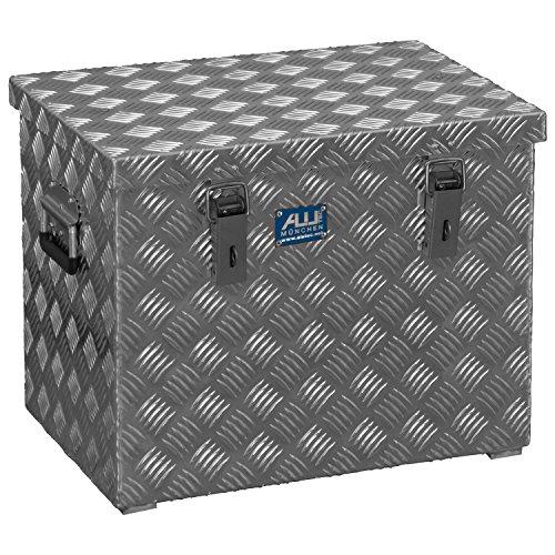 alutec R 70 L Aluminium Riffelblech Werkzeug Transportkiste 52,2 x 37,4 x 42 cm