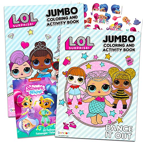 Lol Dolls Coloring Books Party Set …