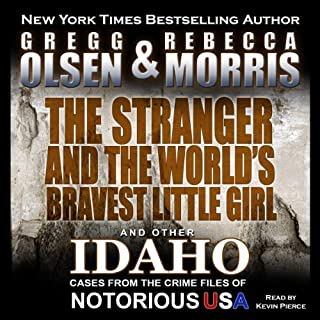 The Stranger and the World's Bravest Little Girl audiobook cover art