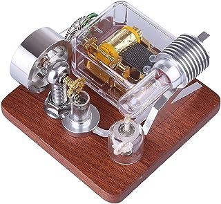 BOYH Modèle de Moteur Stirling Machine à Vapeur Moteur à Combustion Externe Jouet éducatif Science Physique Expérience Cadeau