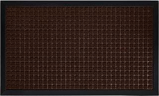 Gorilla Grip Original Durable Natural Rubber Door Mat, Waterproof, 47x35, Low Profile, Heavy Duty Doormat for Indoor and O...