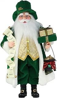 whimsical santa figures