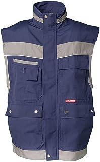 Abbigliamento specifico Abbigliamento da lavoro e divise Planam Plaline Salopette Sabbia/Nero