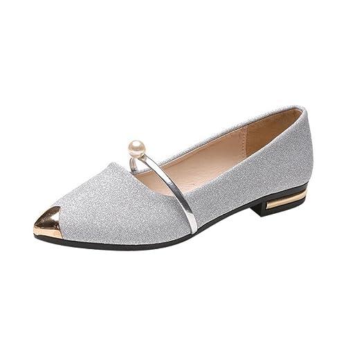 2513430d Zapatos Mujer Primavera Verano ❤ Amlaiworld Sandalias de Verano con  Plataforma Mujer Zapatos Planos Casual