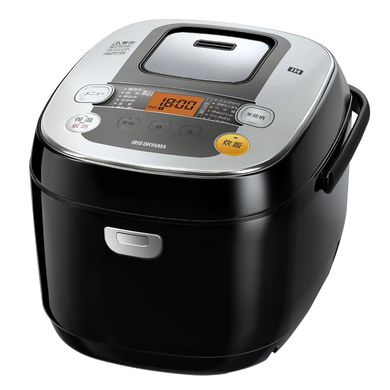 キャリッジ重要コンクリートアイリスオーヤマ 炊飯器 IH式 1升 銘柄炊き分け機能付き RC-IB10-B