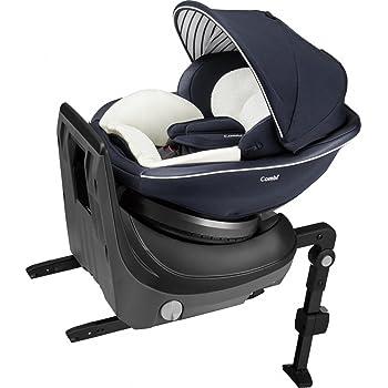 コンビ ホワイトレーベル チャイルドシート クルムーヴ スマート ISOFIX エッグショック JJ-600 ネイビー 新生児~4才頃対象