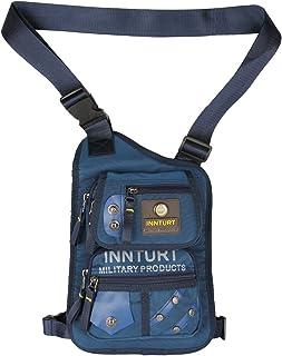 Leg Bag Thigh Bag Innturt Tactical Fanny Pack Hip Bag Hiking Bag Leg Pouch Blue