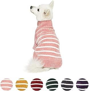 pink argyle dog sweater