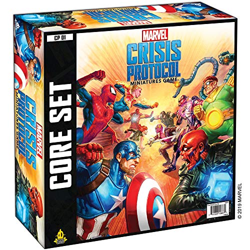 Marvel Crisis Protocol Core Game Board Game (Includes 10 Minis) $68