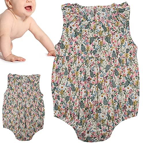 SALUTUY Mono para bebé, Mono Infantil de Moda Suave y Agradable a la Piel para fotografía(Apricot, 90cm)