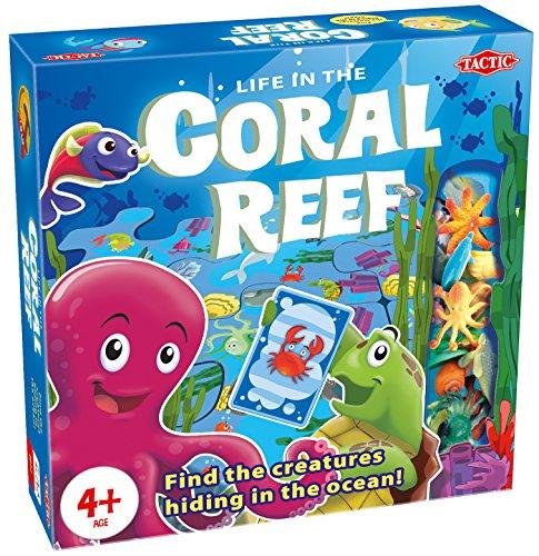 Tactic Coral Reef Juego de Mesa de Aprendizaje Niños - Juego de...