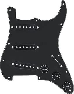 DiMarzio Area Model Prewired Pickguard Black