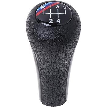 E63 E30 5 E91 E53 E60 3 E92 E28 E82 E87 E61 E81 Pommeau de levier de vitesse manuel pour BMW S/érie 1 E84 E90 7