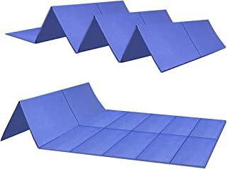 JBM Folding Yoga Mat 68 inch x 24 inch Fold up Travel Yoga Mat for Yoga Travel Fitness and Floor Exercise